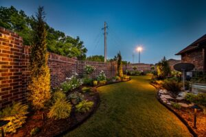 Outdoor Lighting Tulsa Living Water 1