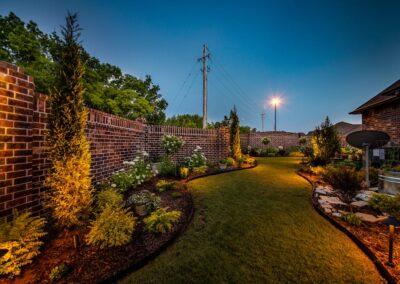 Outdoor Lighting Tulsa Living Water 1