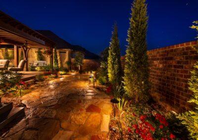 Outdoor Lighting Tulsa Living Water 10