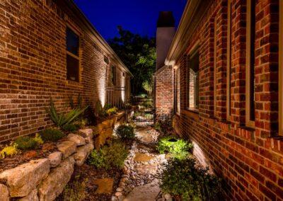 Outdoor Lighting Tulsa Living Water 13