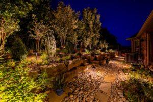 Outdoor Lighting Tulsa Living Water 14