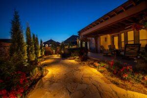 Outdoor Lighting Tulsa Living Water 8